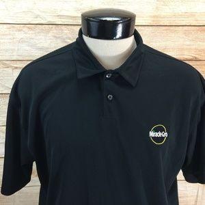 Nike Golf Polo Miracle Gro Black XL